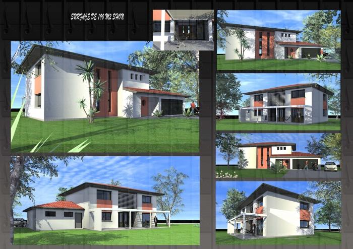 Maison individuelle toulouse une r alisation de for Architecte maison individuelle toulouse