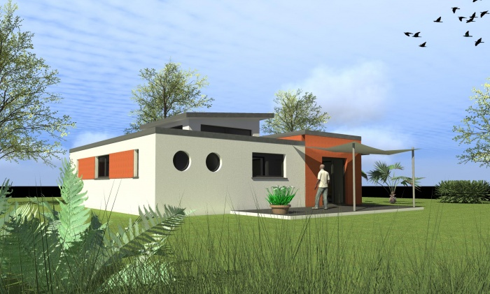 Maison individuelle transportable