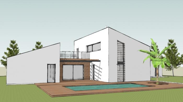 architectes r novation d 39 une maison de ville toulouse. Black Bedroom Furniture Sets. Home Design Ideas