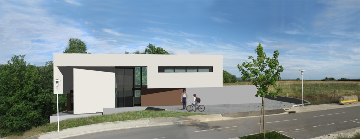 Maison Contemporaine et bioclimatique bbc