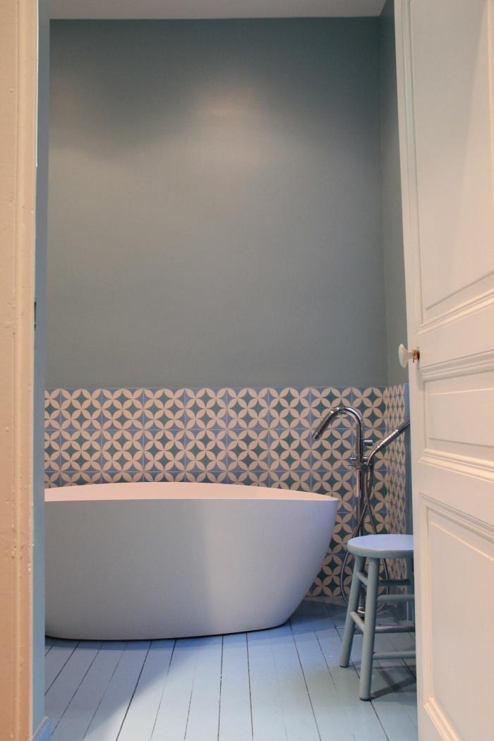 Rénovation salle d\'eau et salle de bain dans maison bougeoise du 19 ...