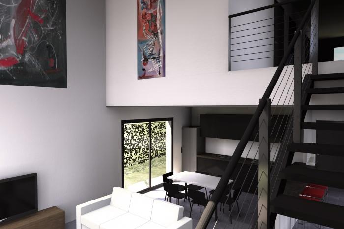 Construction d'une maison individuelle de type T4 : Ambiance intérieure