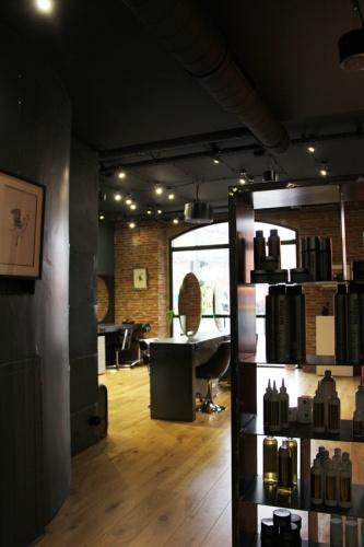Cr ation d 39 un salon de coiffure toulouse une r alisation de agence pi belli - Creation salon de coiffure ...