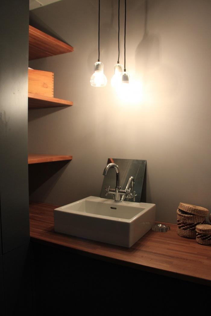 réhabilitation appartement 19 ème en  hypercentre : réalisation salle de bain
