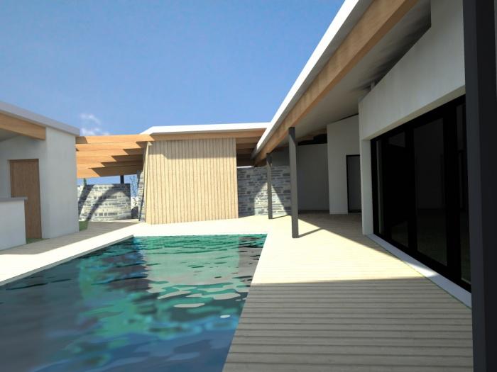 maison contemporaine : vue 10