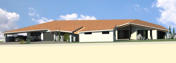 maison contemporaine : vue 2