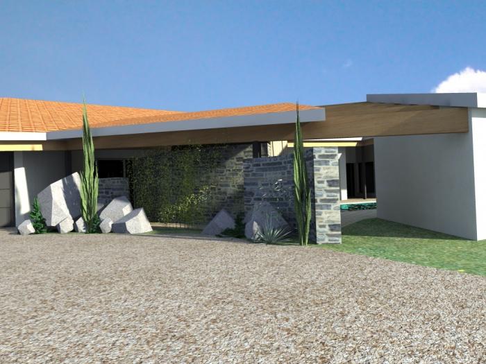 maison contemporaine : vue 11