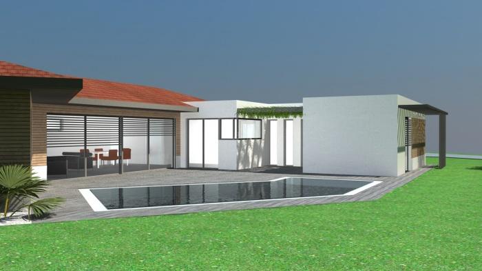 Terrasse Avec Muret Moderne 28 Images Maison Contemporaine