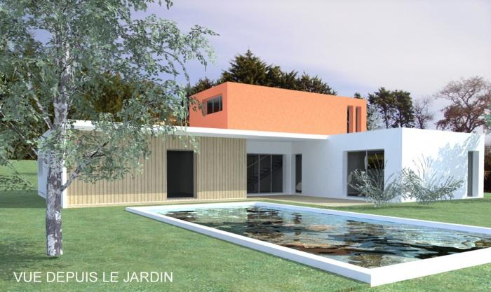 Architectes maison contemporaine r gion for Architecte toulouse maison contemporaine