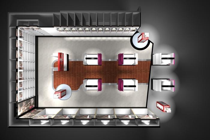 Boutiques Duty Free (hong kong) : Boutique n°13 plan