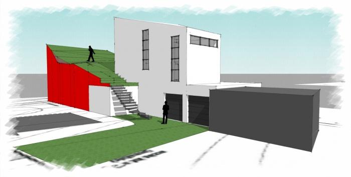 Architectes petite maison contemporaine for Petite maison architecte contemporaine