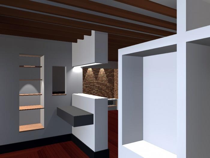 Appartement G : depuis l'entree