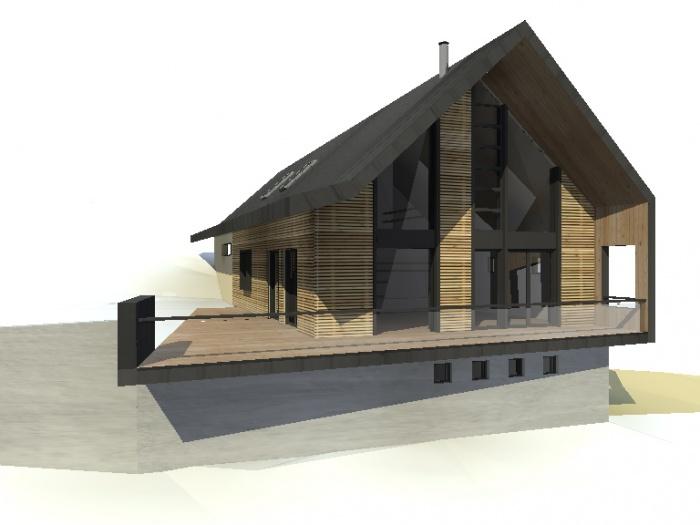 Architectes maison f pibrac - Architecte toulouse maison contemporaine ...