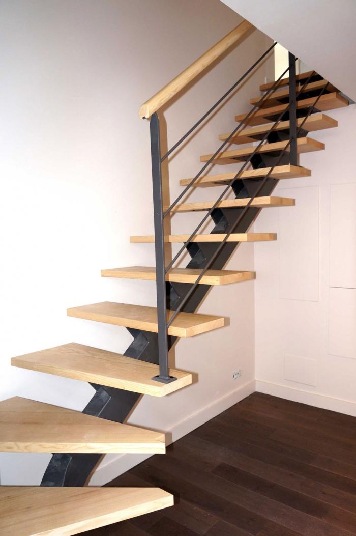 escalier renovation maison toulouse architecte dplg ecole boulle