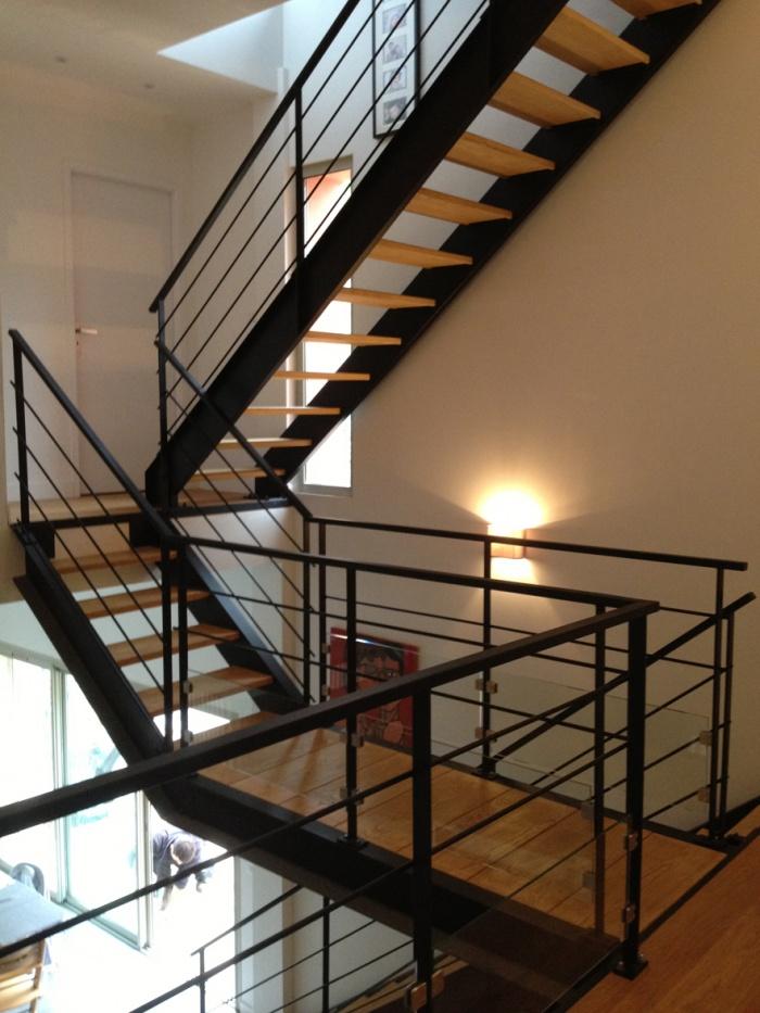Surélévation et rénovation d'une maison