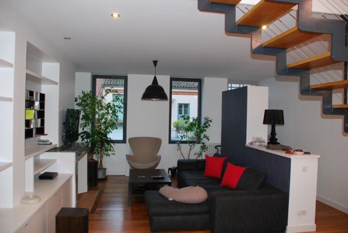 Architectes r novation d 39 une grange en logement individuel - Reportage renovation maison ...