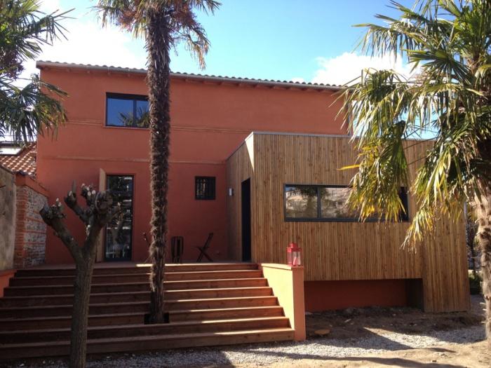 architectes r novation d 39 une grange en logement individuel 31 montberaud. Black Bedroom Furniture Sets. Home Design Ideas