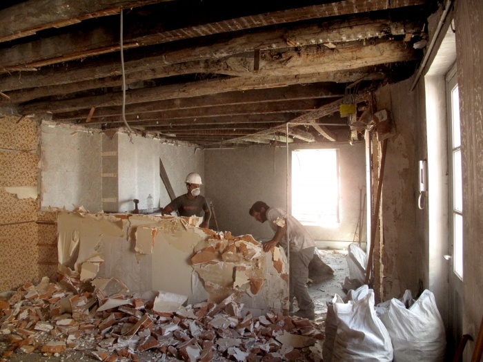 Appartement G : demolition