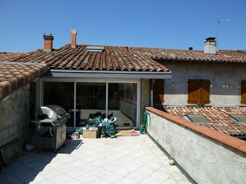 Avant travaux - R+1 terrasse