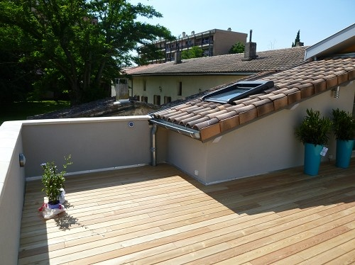 Après travaux - R+1 terrasse