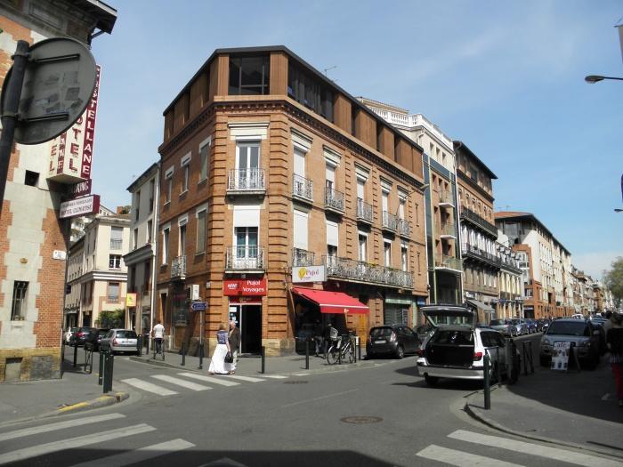 Surélévation d'un immeuble rue Gabriel Péri