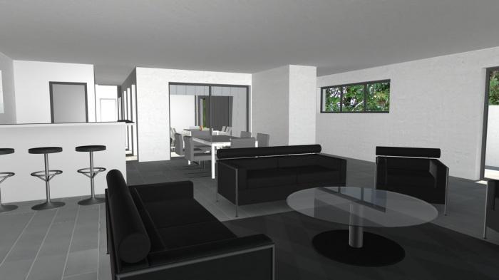 Maison de ville contemporaine à patio : maison-de-ville-contemporaine-a-patio-4