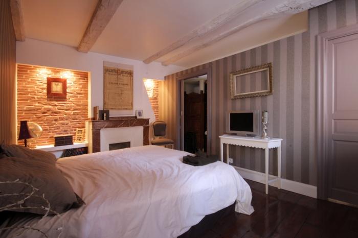 Appartement G : la chambre