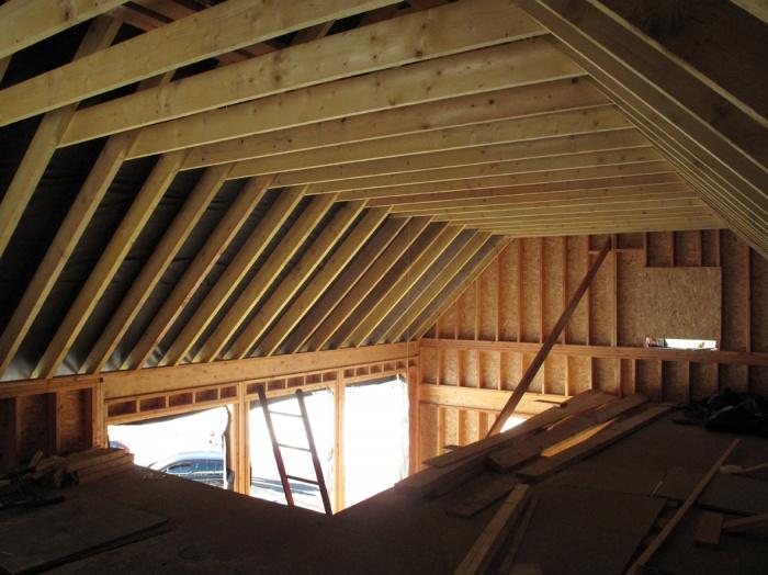 Maison N : chantier en cours