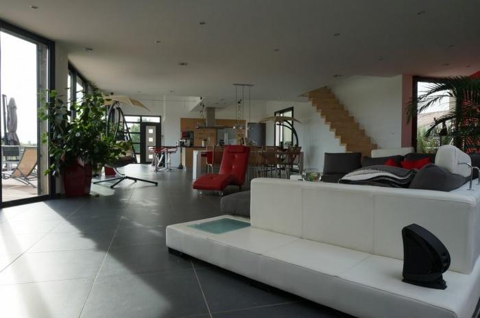 architectes villa v muret. Black Bedroom Furniture Sets. Home Design Ideas