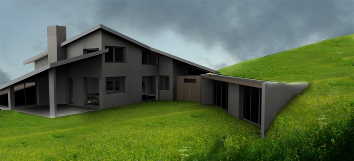 architectes projet extension maison l vignac. Black Bedroom Furniture Sets. Home Design Ideas