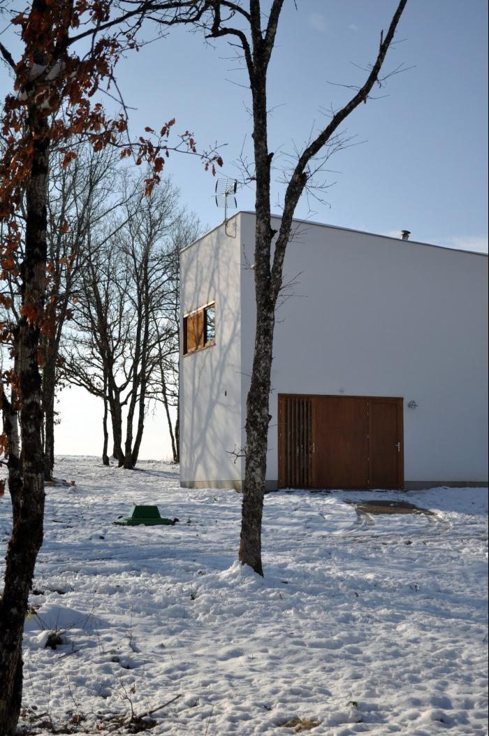 Villa DAV : Atelier CC - Villa DAV à Branceilles - 002