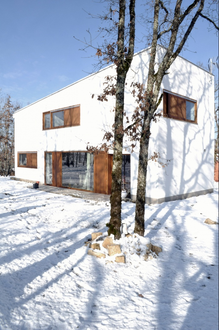 Villa DAV : Atelier CC - Villa DAV à Branceilles - 006