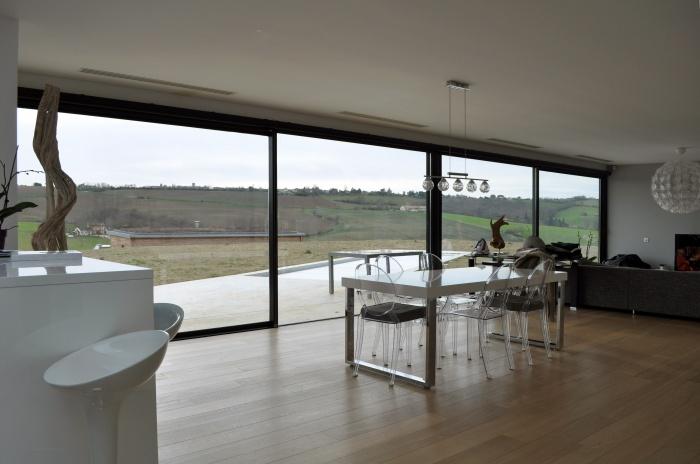 Villa LVR : Atelier CC - Villa LVR à Aureville - 011