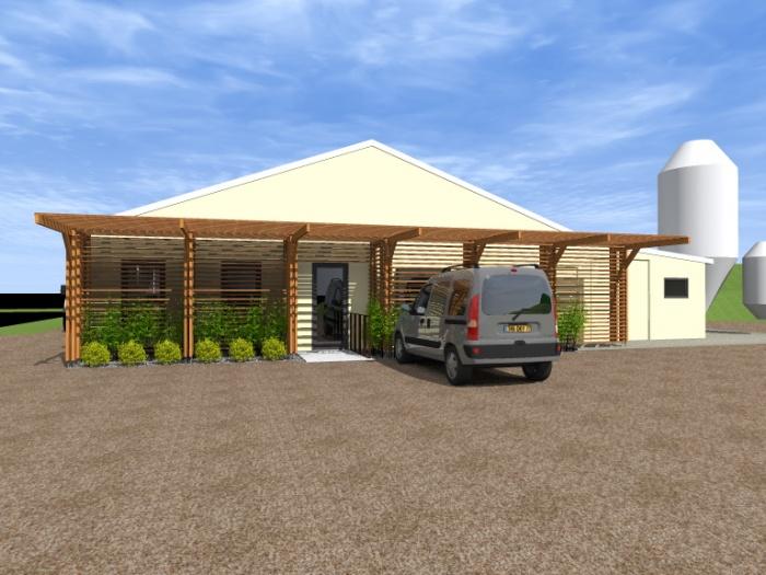 Modification d'une façade de conserverie : Conserverie 2