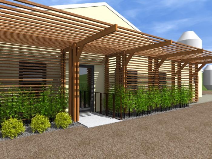 Modification d'une façade de conserverie : Conserverie 5
