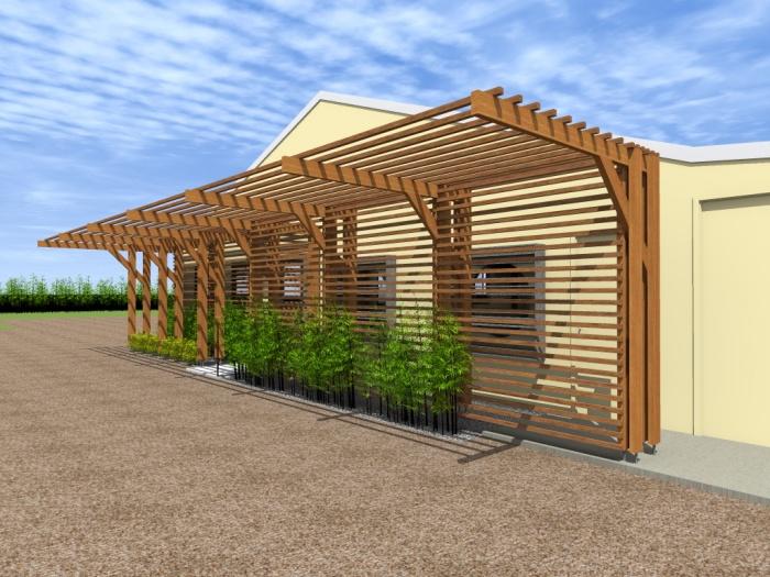 Modification d'une façade de conserverie : 8.1
