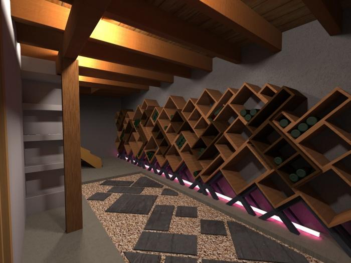 cave vin toulouse une r alisation de d l architectes. Black Bedroom Furniture Sets. Home Design Ideas