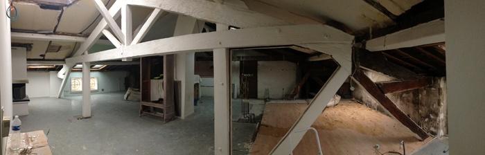 Surélévation d'un immeuble à Toulouse : Dépose cloisons 1.jpg