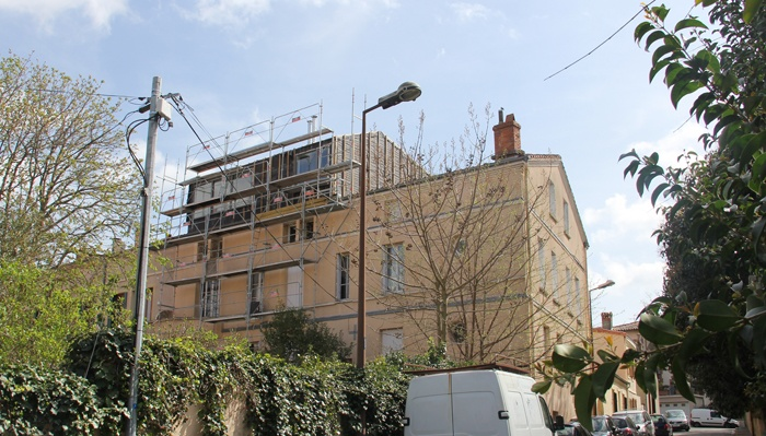 Surélévation d'un immeuble à Toulouse : IMG_6860.JPG