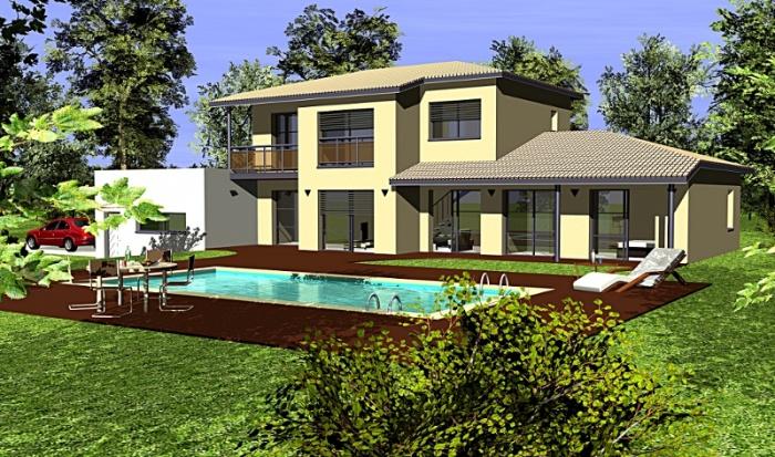 Villa à Montrabé