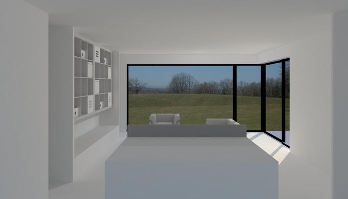 architectes maison individuelle t4 100 toulouse. Black Bedroom Furniture Sets. Home Design Ideas