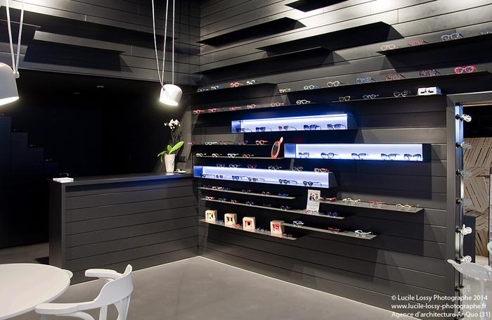 magasin d 39 optique balma balma une r alisation de agence ar quo. Black Bedroom Furniture Sets. Home Design Ideas
