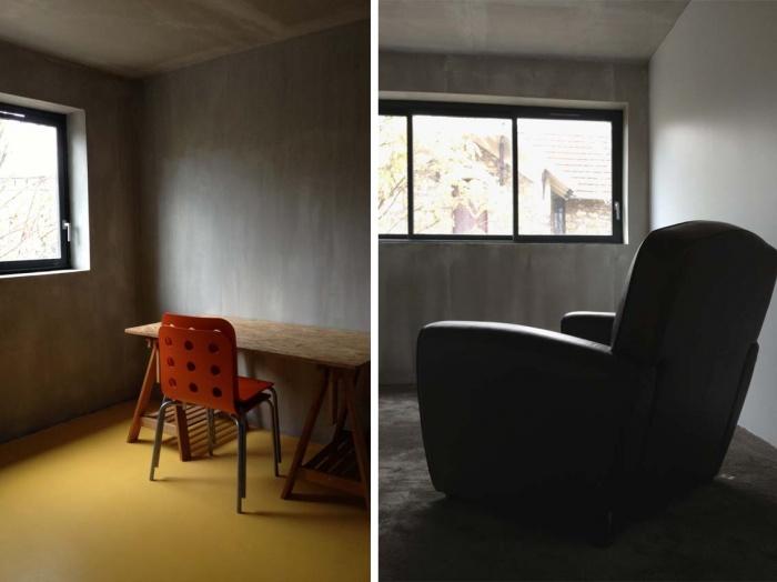 Maison contemporaine en béton