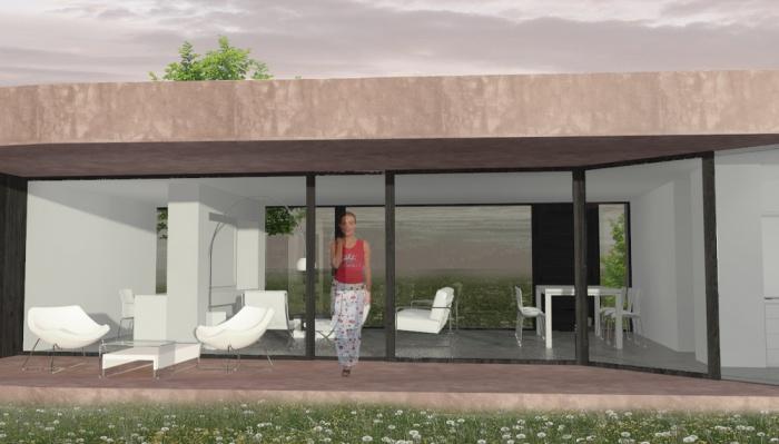 architectes maison losange t4 110 toulouse. Black Bedroom Furniture Sets. Home Design Ideas