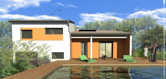 architectes renovation d 39 une maison a la terrasse toulouse. Black Bedroom Furniture Sets. Home Design Ideas
