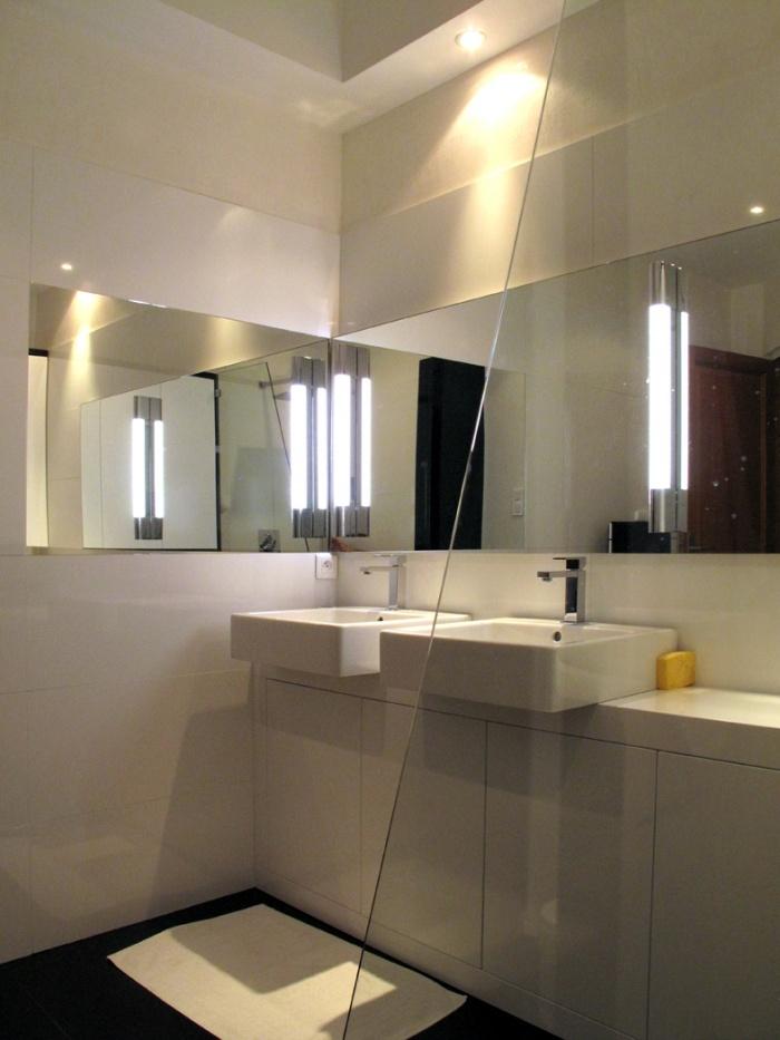 juste une salle de bain : Projet réalisé