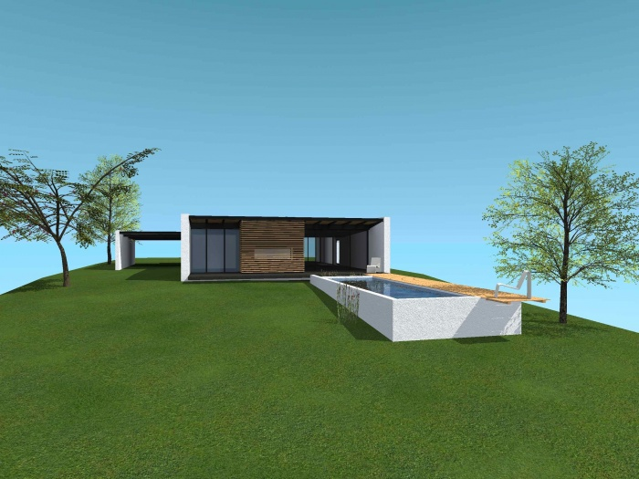 Maison MZ : Vue ext. 1