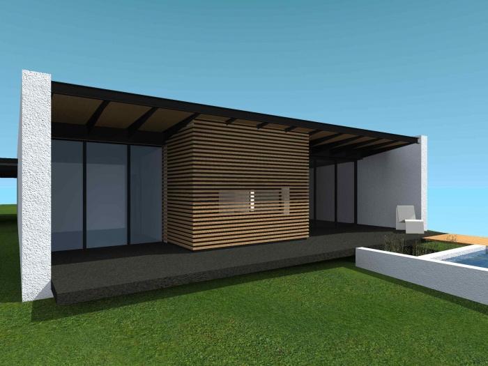 Maison MZ : Vue ext. 2