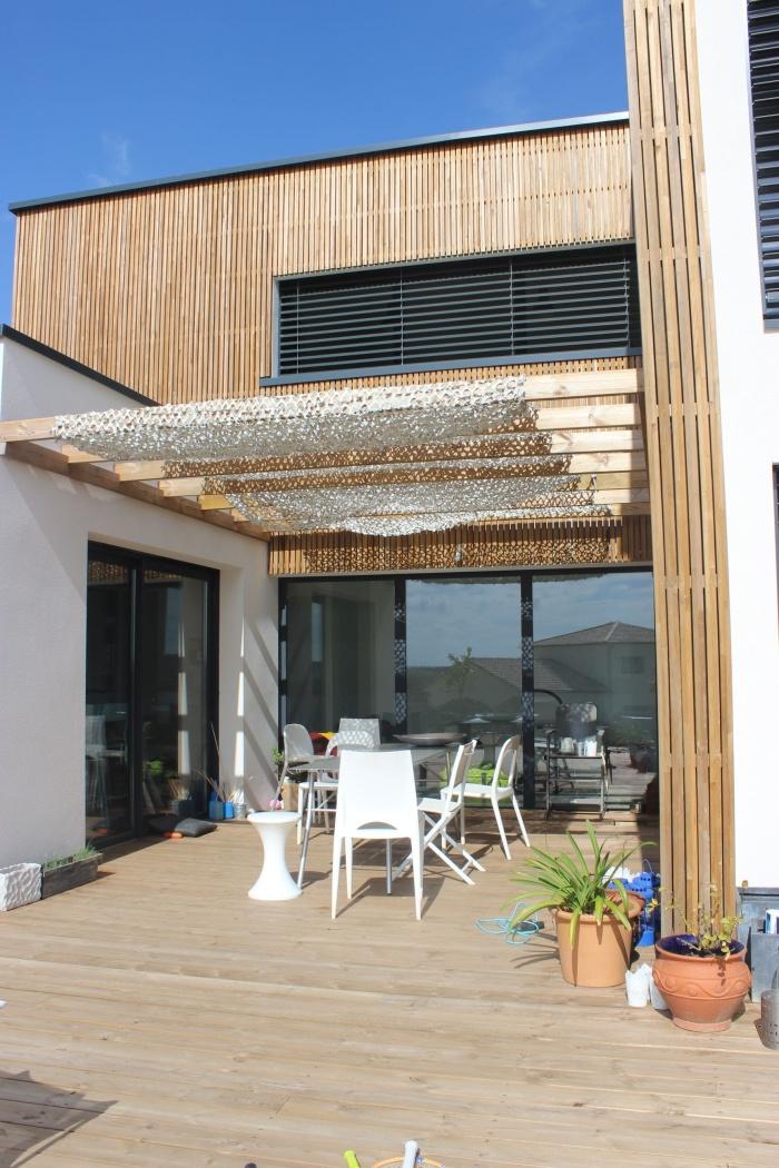 Architectestoulousecom  03 Maisons contemporaines  ~ Pergola Bois Toulouse