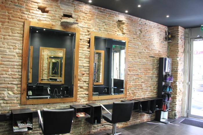 architectes r novation d 39 un salon de coiffure toulouse centre. Black Bedroom Furniture Sets. Home Design Ideas